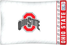 ohio state bedding sets state buckeyes micro fiber standard pillow case from ohio state comforter set ohio state bedding