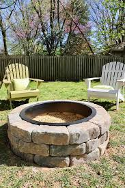 How To Build A Diy Fire Pit With Gravel Stones And Walkway