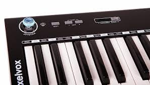 Купить <b>MIDI</b>-<b>клавиатура AXELVOX KEY49J</b> BLACK с бесплатной ...