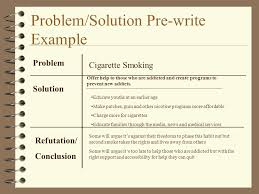 a guide to problem and solution essays how to argue your solution  4 problem solution