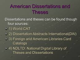 dissertations and theses definitions dissertations and theses are  2 american dissertations