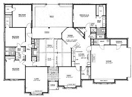 4 bedroom ranch house plans. Ranch Home Floor Plans 4 Bedroom Photo - 1 House E