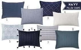 navy pillow shams. Unique Navy Navypillowshams Throughout Navy Pillow Shams