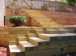 Small Picture The Idea of Great Landscape Timbers Retaining Wall Designs Ideas