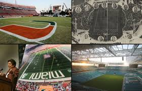 Hard Rock Stadium Seating Chart Hurricanes 53 Curious Miami Orange Bowl Seating Chart