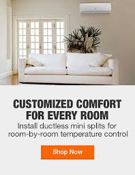 ductless mini splits the home depot