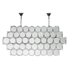 italian murano glass chandelier attributed to mazzega