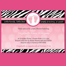 Pink Zebra Baby Shower Invitations  CloveranddotComPink Zebra Baby Shower Invitations
