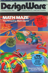 Math Maze For Pc Booter 1983 Mobygames