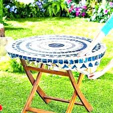 plastic tablecloths with elastic table covers disposable fitted round picnic tablecloth