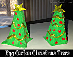 Christmas Angel Egg Carton CraftChristmas Crafts With Egg Cartons