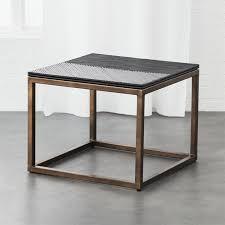end table. Du Monde Rattan Side Table End