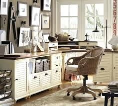pottery barn office desk. Pottery Barn Office Desk Corner Set Almond White Dens And Of Comfy L
