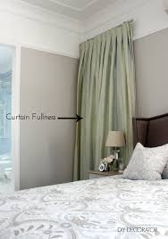 curtain mistake curtain fullness