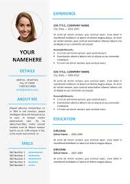 picture resume templates ikebukuro elegant resume template