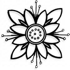Small Picture Flower Coloring Pages Simple Coloring Pages Of Flowers 15766