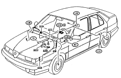alfa romeo 155 electrical and car wiring diagram