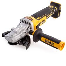 cordless grinder. dewalt dcg405fn 18v cordless xr (body only) brushless flathead angle grinder 125mm