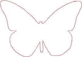 Large Butterfly Template Printable Vastuuonminun