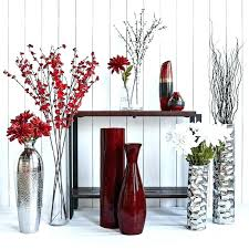 decorative fillers floor vase flower vases large decor