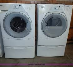whirlpool duet sport washer and dryer. Image For Item Whirlpool Front Load Duet Sport Washing Machine And Dryer Inside Washer
