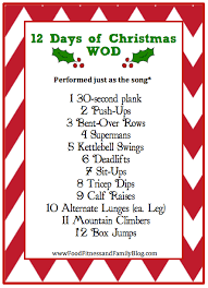 12 Days of Christmas Workout + Fitness Friday - http://www ...
