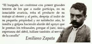Resultado de imagen de frases de emiliano Zapata