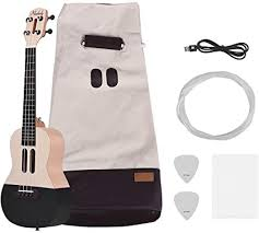 Muslady 23 inch Smart Concert Ukulele Uke Kit Supports <b>APP</b> ...