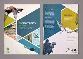 Brochure Design Samples Biodiversity In The Royal Parks Beautiful Brochure Design Example