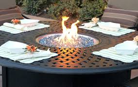 simplistic round gas fire pit table a8985659 round propane fire pit on patio table set part