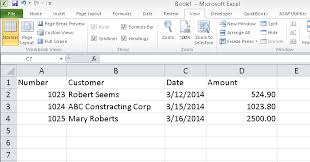 importing transactions from excel into