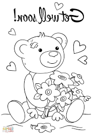 Get Well Soon Coloring Pages 9ncm Get Well Soon Coloring Pages