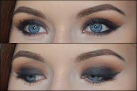 dark smokey eyes collage