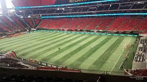 Atlanta United Interactive Seating Chart Mercedes Benz Stadium Section 231 Atlanta United