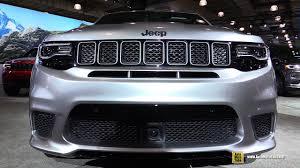 2018 jeep trackhawk interior. plain interior 2018 jeep grand cherokee trackhawk  exterior and interior walkaround  2017 new york auto show inside jeep trackhawk interior