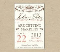 Save the date : printable save the date for free