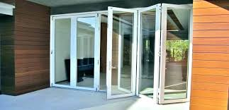 exterior folding patio doors foot door cost bi fold glass in india foldi folding patio door cost