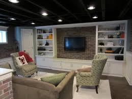 Unfinished Basement Design Property Custom Inspiration Design