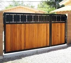 wooden gate plans house entry gate design black metal frame and vertical slatted wood gate design wooden gate