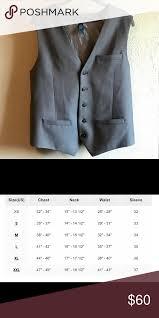 Perry Ellis Size Chart Herringbone Suit Vest Mens 3 Pocket Herringbone Suit Vest