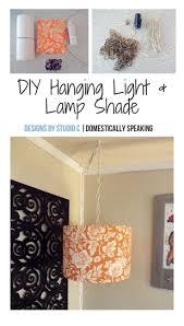 Diy Hanging Light Lamp Shade Bhgs Best Diy Ideas Diy Hanging
