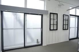 Transparent Aluminium Aluminium Sliding Doors John Knight Glass Heswall Uk