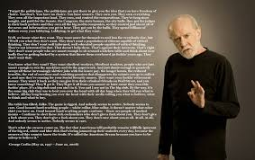 George Carlin American Dream Quote
