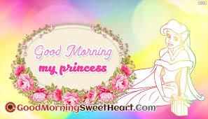 good morning my princess