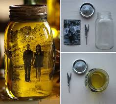 Diy Decorative Mason Jars Your photo in a mason jar and oil to add that vintage sepia look 29