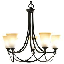 surprising in 5 light oil rubbed bronze glass chandelier light allen roth candle chandelier