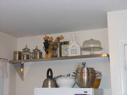 Stylish Kitchen Shelves Ideas On Home Remodel Plan With Kitchen