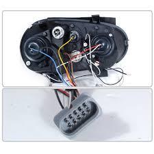 2006 gti headlight wiring harness 33 wiring diagram images hid xenon 99 05 volkswagen golf gti mk4 angel eye halo projector headlights gloss black