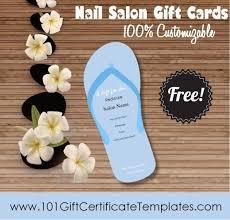 Nail Salon Gift Certificates Free Nail Salon Gift