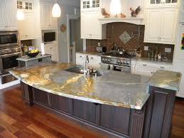Granite Kitchens White Kitchen With Light Granite Countertops Cliff Kitchen
